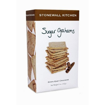 Stonewall Kitchen Sugar Graham Crackers, 5-Ounce Boxes (Pack of 3)
