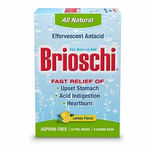 Brioschi Effervescent Antacid For Upset Stomach