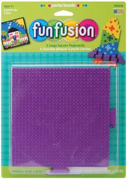 Perler Beads Perler Fun Fusion Pegboards 5.5