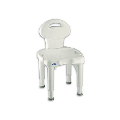 Invacare I-Fit Shower Chair with Back with Microban