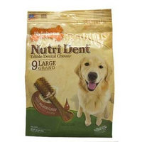 Nylabone Nutri Dent Complete Filet Mignon Flavored Dog Treat Bone