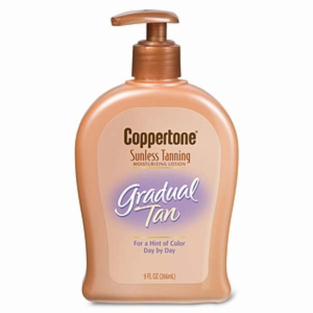 Coppertone Sunless Tanning Gradual Tan Moisturizing Lotion