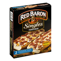 Red Baron Singles French Bread Pizzas Pepperoni - 2 CT