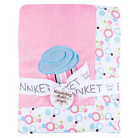 Trend Lab Pink Cupcakes Velour Blanket by Lab