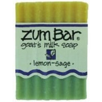 Indigo Wild - Zum Lemon Sage All Natural Goats Milk Soap - 1 Bar 3 oz