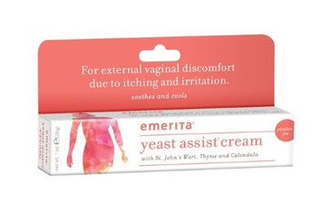 Yeast Assist Cream Emerita 1 oz Cream