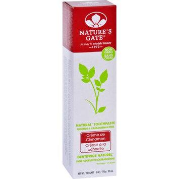 Nature's Gate Natures Gate Toothpaste - Creme de Cinnamon - 6 oz - Case of 6