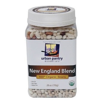 Urban Pantry Essentials New England Blend, Organic Beans, 28-Ounce Bottles (Pack of 3)
