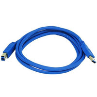 Monoprice 6ft USB 3.0 A Male to B Male 28/24AWG Cable (Gold Plated)