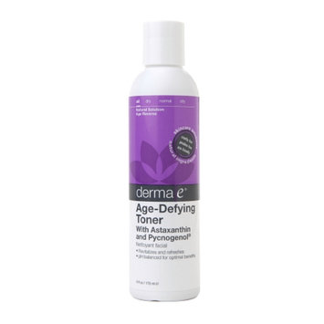 derma e Age-Defying Toner with Astaxanthin and Pycnogenol