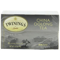 Twinings China Oolong Tea, Tea Bags, 20-Count Boxes (Pack of 6)
