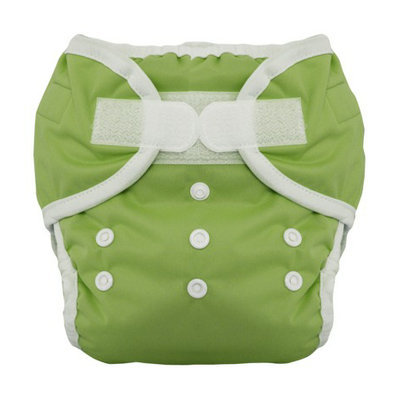 Thirsties Duo Diaper Set - Meadow Size Two