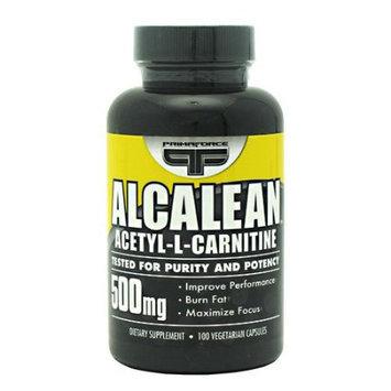 Primaforce - Alcalean 100% Acetyl L-Carnitine 500 mg. - 100 Vegetarian Capsules