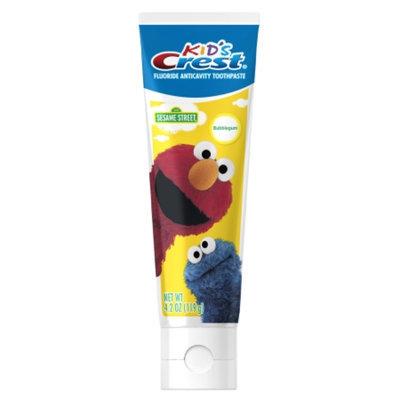 Crest Kids Sesame Street Toothpaste, Bubblegum