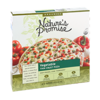 Nature's Promise Organics Vegetable Thin Crust Pizza