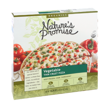 Nature's Promise Organics Vegetable Thin Crust Pizza