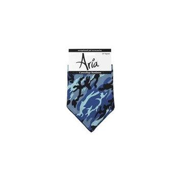 Aria DT444 19 Aria Camouflage Bandana Blue