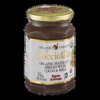 Nocciolata Organic Hazelnut Spread with Cocoa & Milk