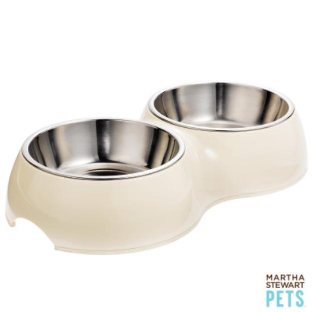 Martha Stewart PetsA Double Pet Feeder