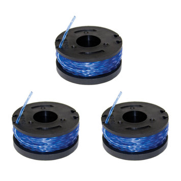 Sun Joe Replacement Trimmer Line Spools - 3 Pack