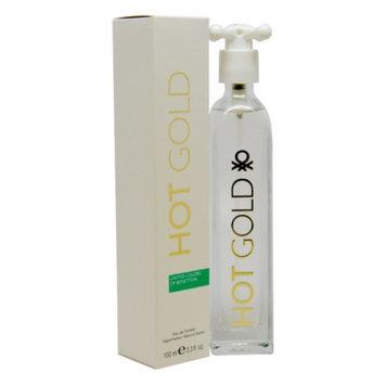 Benetton Hot Gold Eau de Toilette, 3.3 fl oz
