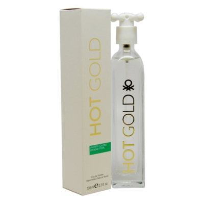 Benetton Hot Gold Eau de Toilette, 3.3 fl oz
