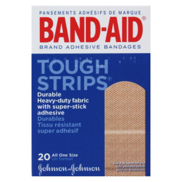 Band Aid Band-Aid Tough Strips Bandages, 20 ct - 1