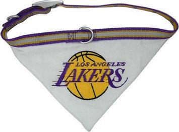 Pets First Los Angeles Lakers Dog Collar Bandana