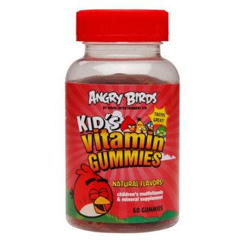 Natrol Angry Birds Kid's Vitamin Gummies, 60 ea