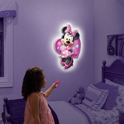 Uncle Milton Wall Friends-Minnie Mouse