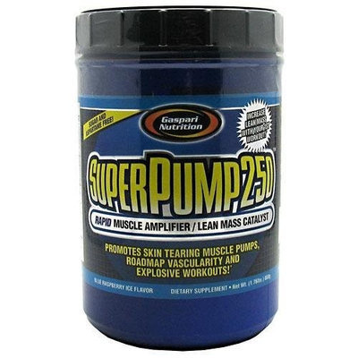 Gaspari Nutrition Super Pump 250 800g Blue Raspberry