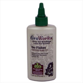 GroWorks No Flakes Calming Scalp Oil 4oz