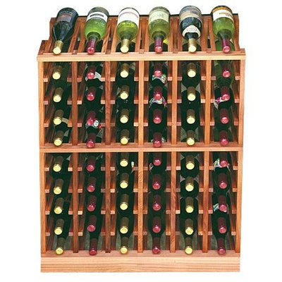 Wine Cellar Innovation Designer Series 60-Bottle 6-Column Half Height Wine Rack