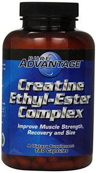 Pure Advantage - Creatine Ethyl-Ester Complex 2000 mg. - 180 Capsules.