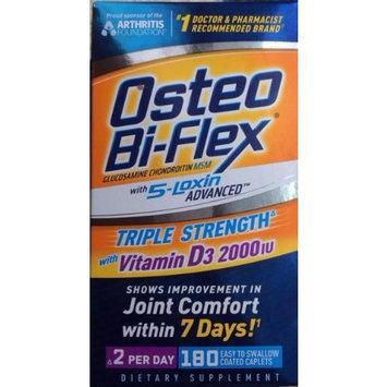 Osteo Bi-Flex - Glucosamine Chondroitin with 5-Loxin and Vitamin D3 2000IU, 190 ct. Value Size