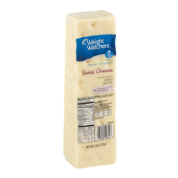 Weight Watchers Reduced Fat Swiss Cheese