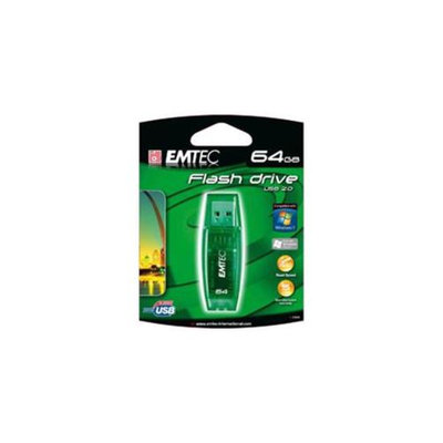 Emtec EMTEC EKMMD64GB EMTEC C600 CANDY - GREEN - 64GB USB 2. 0 FLASH DRIVE