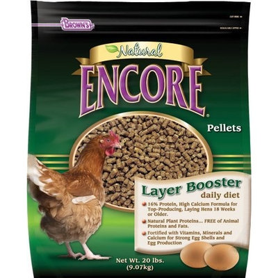 Browns Brown's Layer Booster Daily Diet Chicken Feed