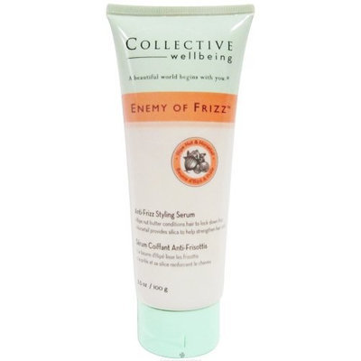 Collective Wellbeing - Frizz Control Styling Serum Enemy of Frizz Medium Hold Illipe Nut/Horsetail - 3.5 oz.