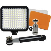 Vidpro LED-120 Digital Photo & Video Camcorder Light with Bracket