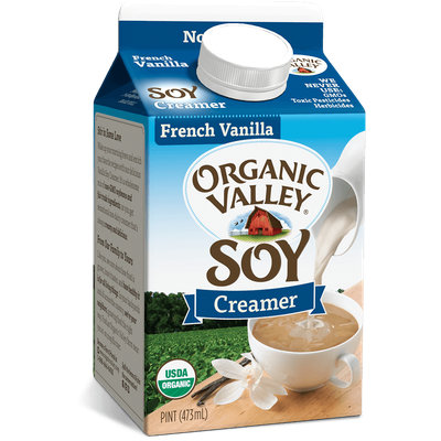 Organic Valley® French Vanilla Soy Creamer, Pint