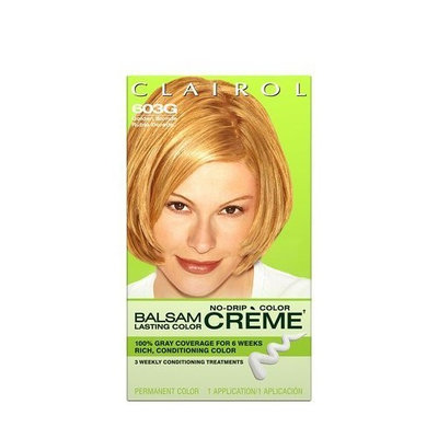 Clairol Balsam Lasting Color Creme #603G Clairol Balsam Lasting Color Color Locking Creme System, Golden Blonde 603G 1 system