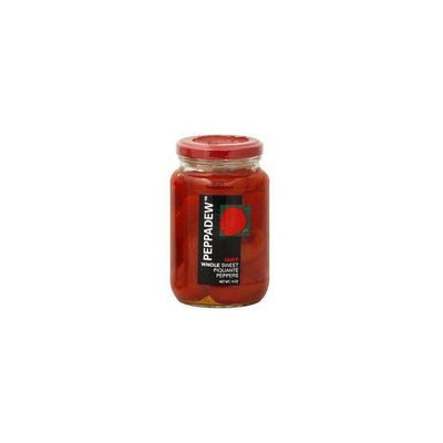 Peppadew Hot Whole Sweet Piquante Peppers (Case of 12)