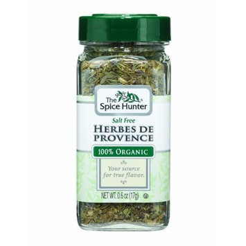 The Spice Hunter Herbes De Provence, Organic, 0.6-Ounce Jars (Pack of 6)