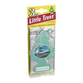 Little Trees Air Fresheners Bayside Breeze - 3 CT