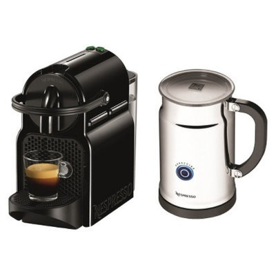 Nespresso Inissia Espresso Machine Bundle - Black
