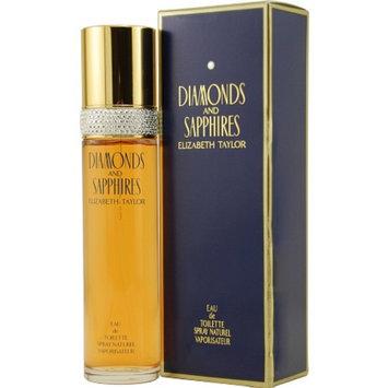 Diamonds & Sapphires by Elizabeth Taylor Diamonds and Sapphires Eau De Toilette Spray