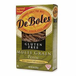 DeBoles Gluten Free Penne Multigrain Pasta