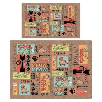 RPM International, Inc. Drymate Multi-Use Pet Mat Set - Brown (2 Count)