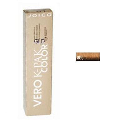 Joico Vero K-Pak Age Defy Color Permanent Creme Color 8GC+ Medium Golden Copper Blonde
